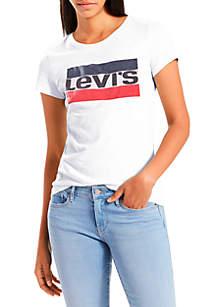 Levi's® Slim Crew Neck Sportswear Logo Graphic T Shirt