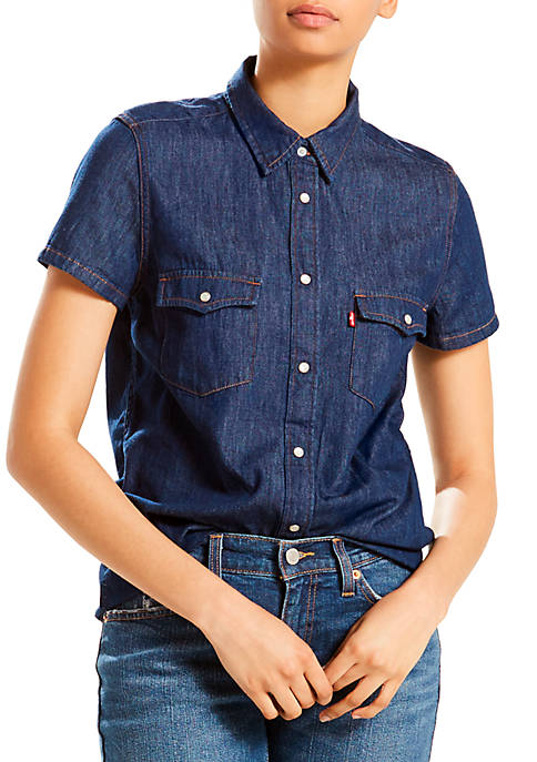 Levi's® Larissa Short Sleeve Western Authentic Tee