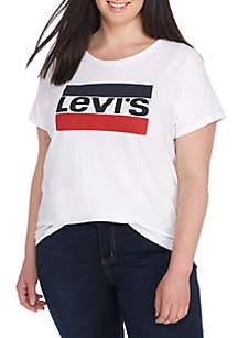 Plus Sportswear Logo Perfect Tee