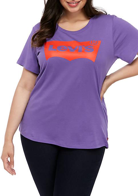 Plus Size Perfect Passion Flower Short Sleeve T Shirt