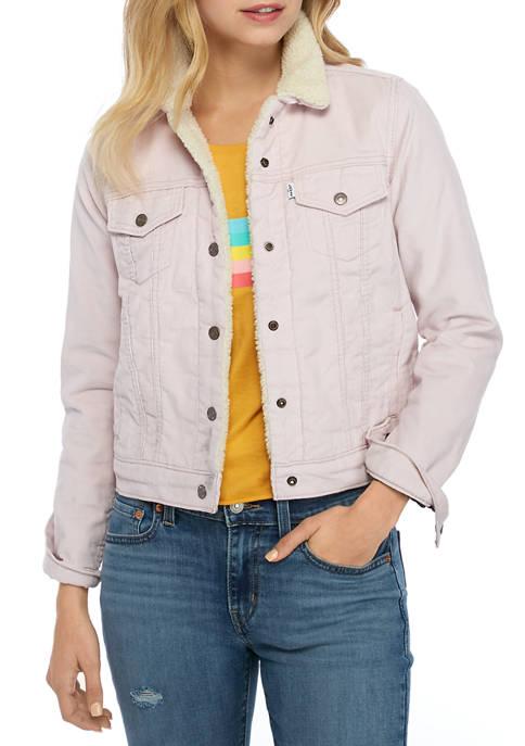 Levi's® Original Sherpa Trucker Jacket Vintage Hushed Violet