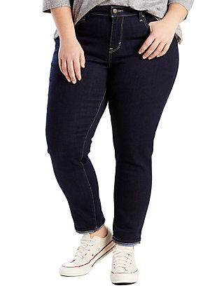 85be9075e5 Levi s® Plus Size 711 Skinny Ankle Jeans