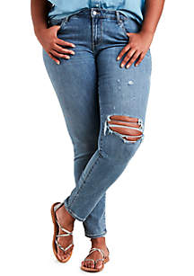 Plus Size Skinny Jeans Outta Time