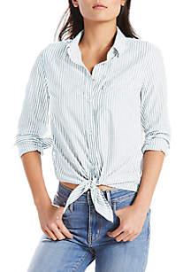 Levi's Liza Tie Shirt Basswood Shirt