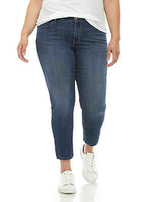 a2be46b05e082 Levi's® Plus Size 711 Skinny Ankle Jeans ...