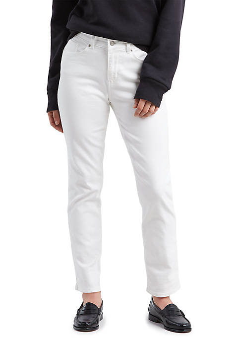 Classic Straight Pure White Jeans