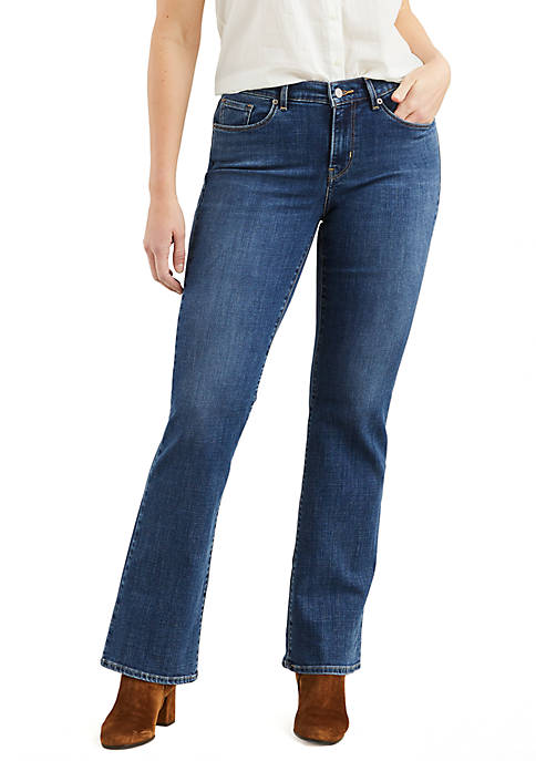 Classic Bootcut Jeans Blue Andromeda