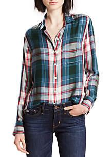 Ryan One-Pocket Boyfriend Shirt