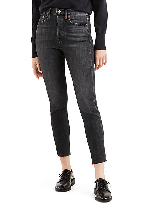Levi's® Wedgie Skinny Jeans 001 Ravens Wing