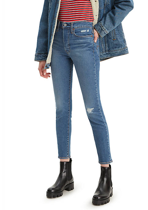 Levi's® Wedgie Skinny Pacific Waves Denim Jeans