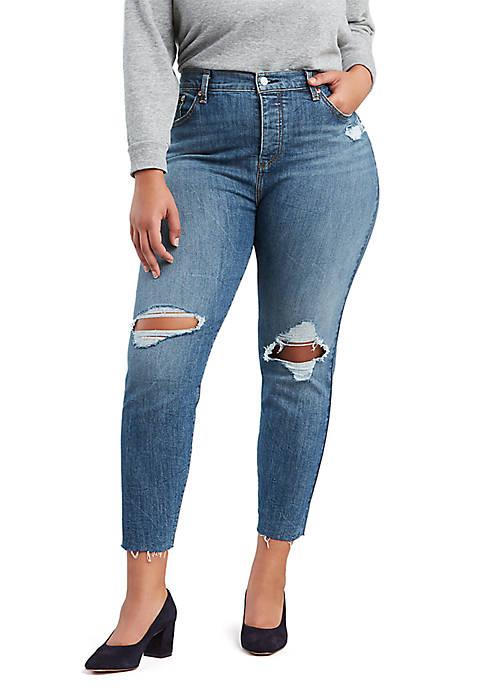 Levi's® Plus Size Wedgie Tough Love Jeans