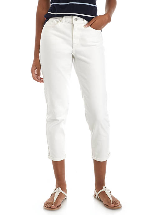 Levi's® Simply White Classic Crop Jeans