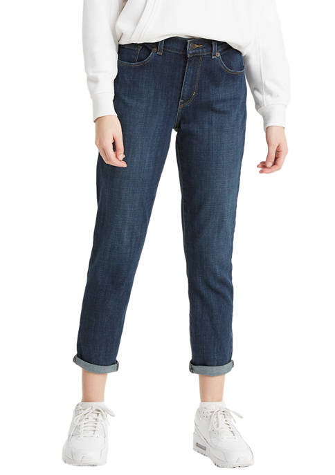 Levi's® Classic Crop Dark Blue Denim Jeans