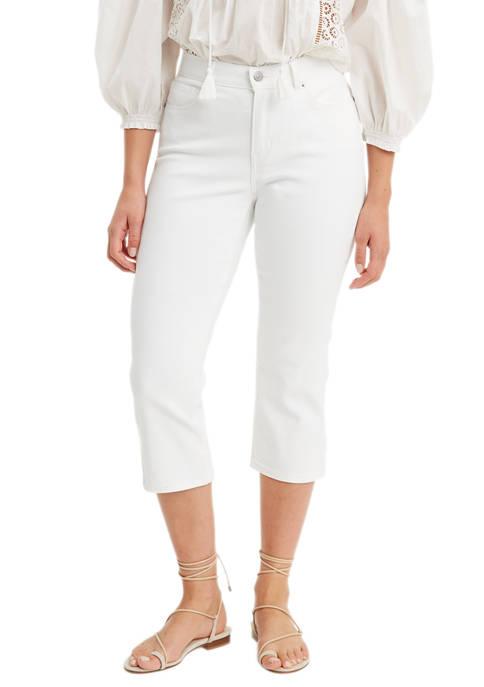 Levi's® Classic Simply White Capris