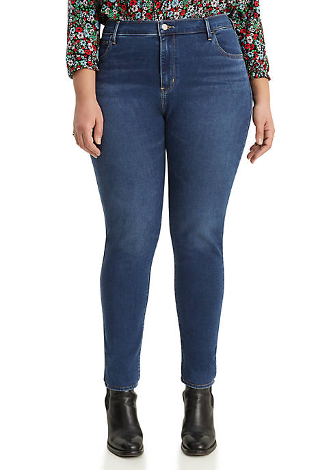 Plus Size Skinny Blue Me Away Jeans