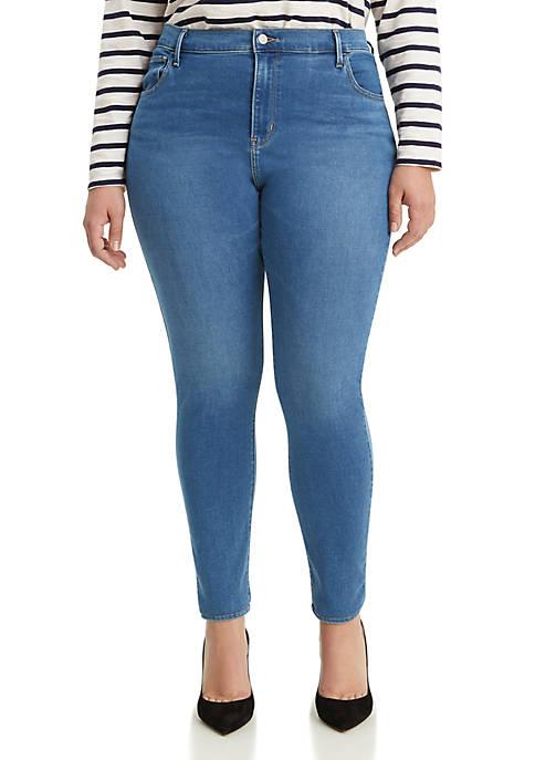 Plus Size 720 Blue Bird High Rise Skinny Jeans