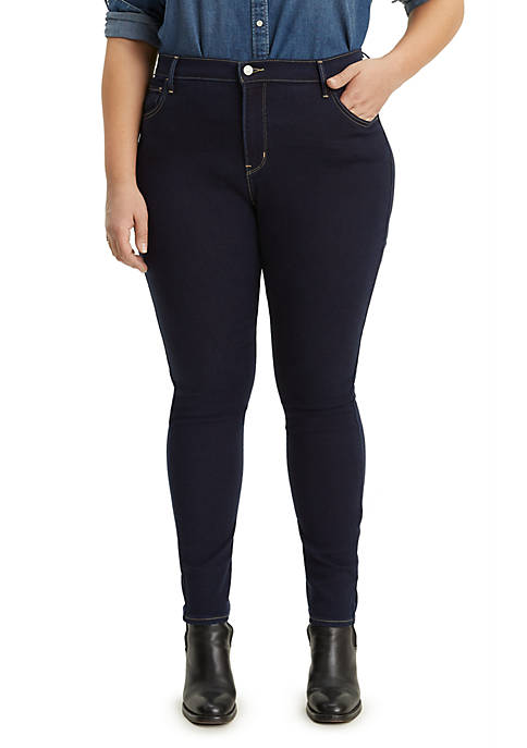 Levi's® Plus Size High Rise Skinny Indigo Atlas