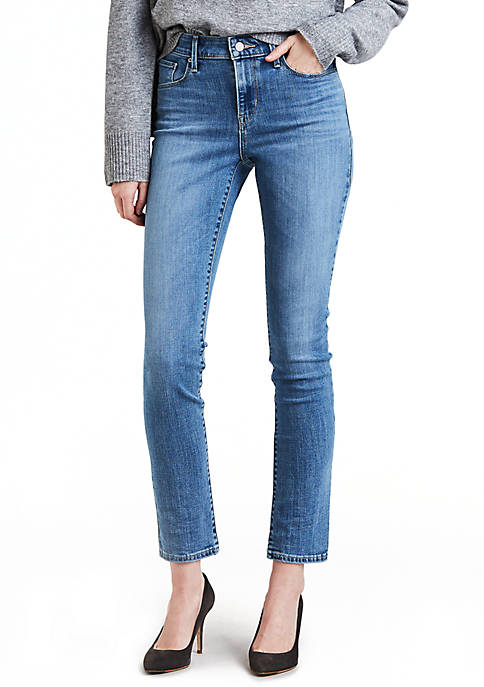 Classic Mid Rise Skinny Jeans Meteor Wave