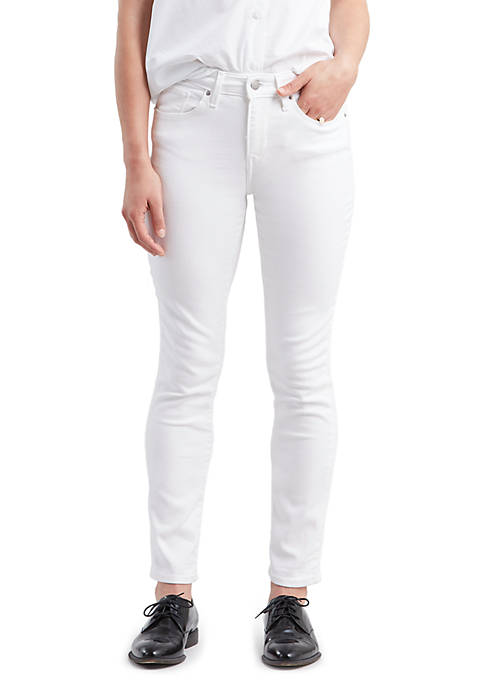 Levi's® Classic Mid Rise Skinny Pure White Jeans