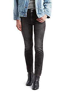 Levi's® Classic Mid RIse Black Skinny Jeans