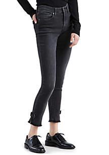 721 High Rise Skinny Bow Jean