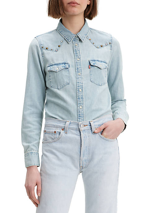 Levi's® Ultimate Western Daydreamin Denim Button Front Shirt