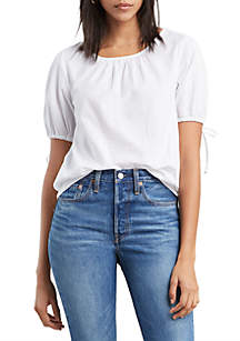 Levi's® Elyse Bright White Top