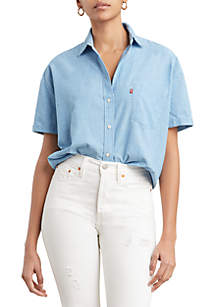 Levi's® Light Wash Lacey Shirt