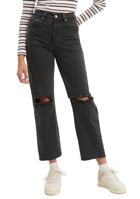 Levi's® Ribcage Straight Ankle Cabo Nights Jeans