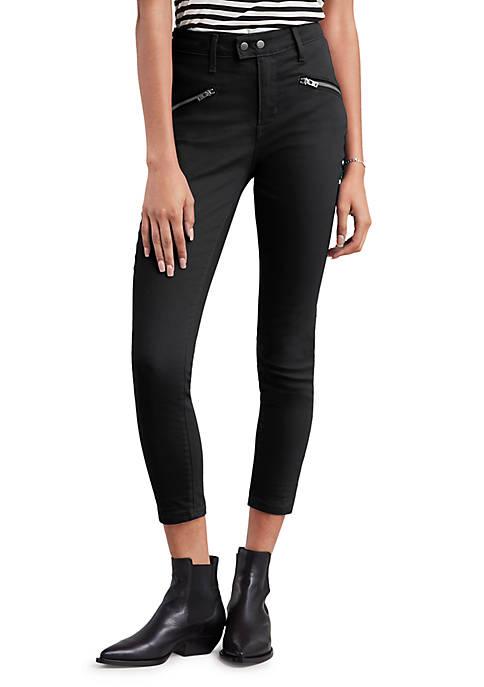 Levi's® 721 Moto Skinny Ankle Soft Ultra Black