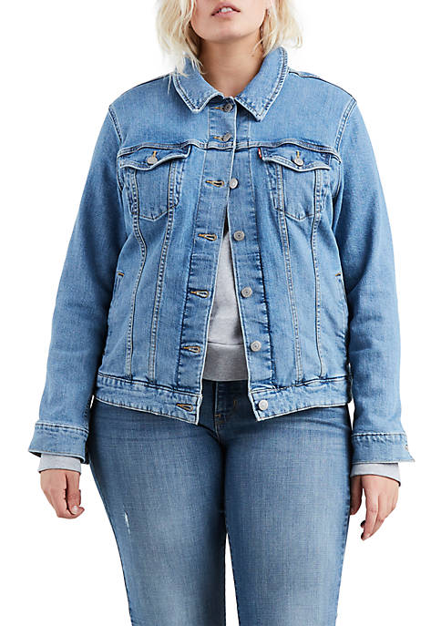 Levi's® Plus Size Original Trucker Jeanie Jacket