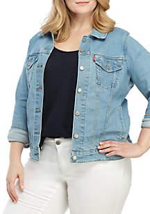 Levi's® Plus Size Flower Fresh Original Trucker Jacket
