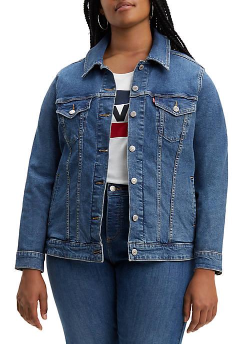 Plus Size Original Denim Jacket