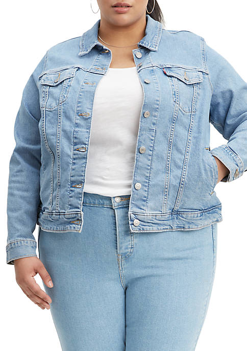 Levi's® Plus Size Original Sun Baked Trucker Jacket
