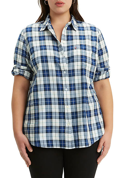 Levi's® Plus Size Relaxed Fit Bandoneon Shirt