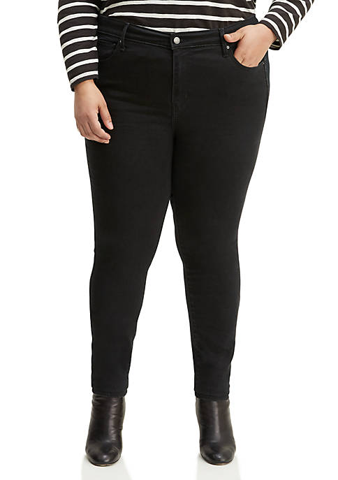 Levi's® Plus Size 721 Blackened Ash High Rise