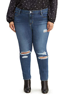 Levi's® Plus Size High Rise Skinny Manic Monday Jeans
