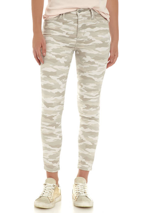 Levi's® Womens High Rise Cropped Camo Jeans