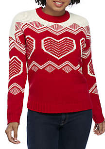 Holiday Inarsia Sweater