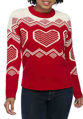 TRUE CRAFT Holiday Inarsia Sweater ... 625920dee