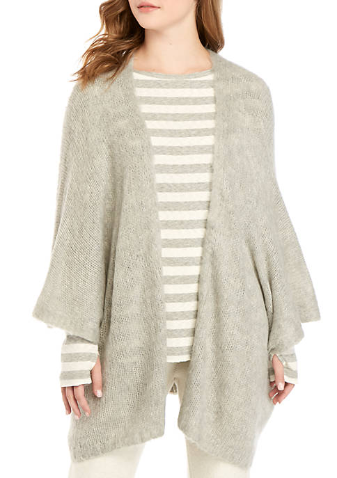 TRUE CRAFT Soft Shop Cozy Poncho Sweater