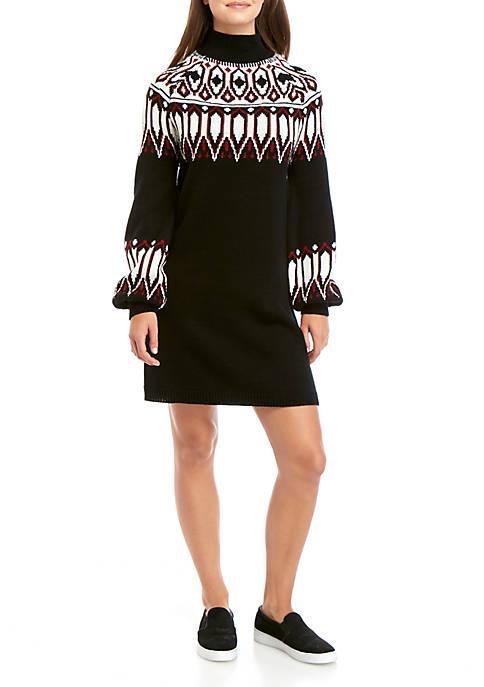 TRUE CRAFT Sweater Dress