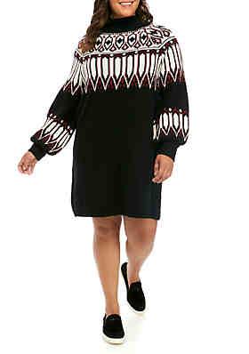 TRUE CRAFT Juniors\' Plus Size Dresses   belk