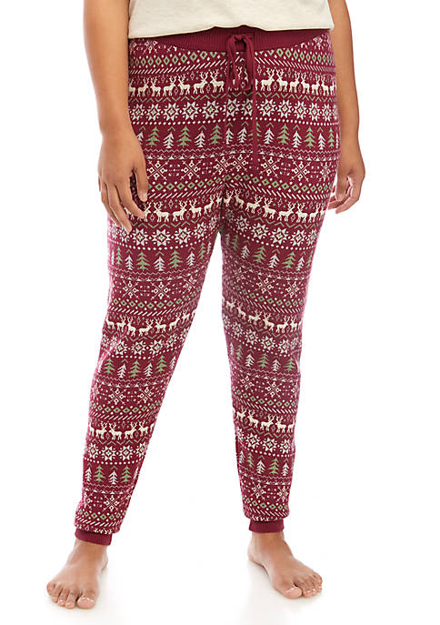 TRUE CRAFT Plus Size Holiday Sweater Leggings