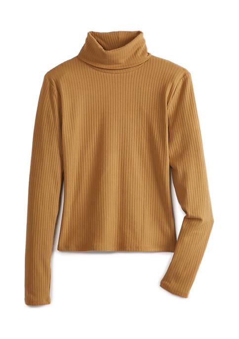 Aveto Juniors Long Sleeve Turtleneck Shirt