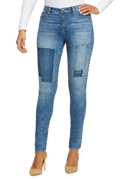 Lisbeth Rodeo Patch Curvy Skinny Jeans