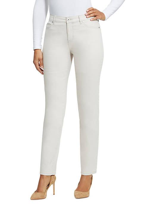 Bandolino Petite Mandie Twill Jeans (Short)