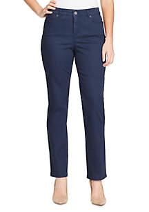 Bandolino Mandie Straight Average Jeans