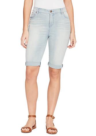 16fd4030a5 Shorts. Bandolino Riley Bermuda Railroad Shorts