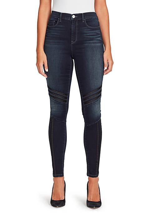 Bandolino Thea High Waist Racer Jeans